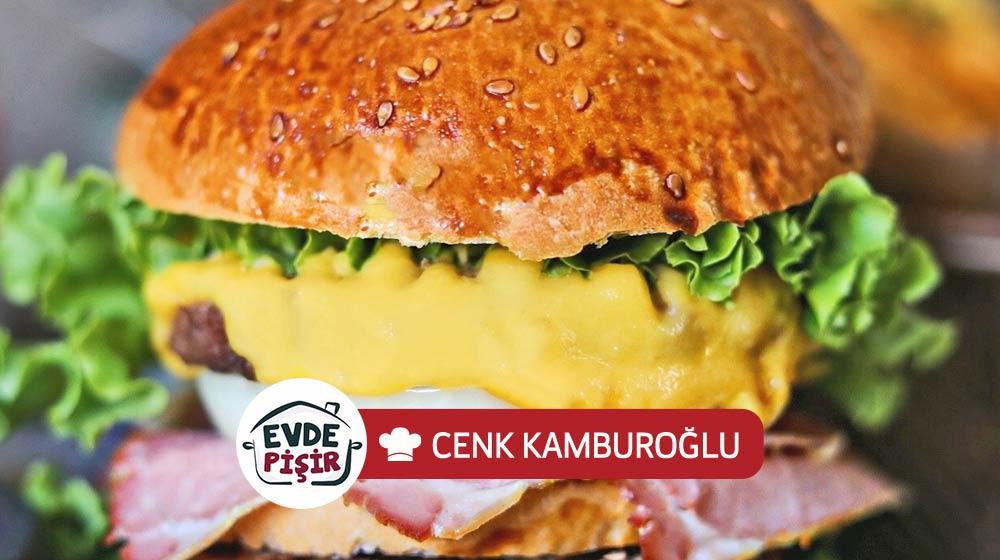 Çedarlı Füme Kaburga Burger